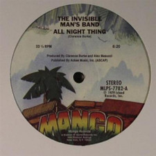 "Invisible Man's Band - All Night Thing - 12"" Vinyl"