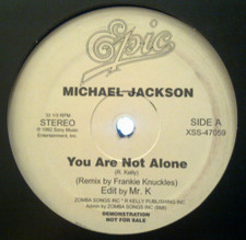 "Michael Jackson / Lil' Louis - You Are Not Alone / Club Lonely - 12"" Vinyl"