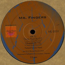 "Mr. Fingers - Outer Acid Ep - 12"" Vinyl"