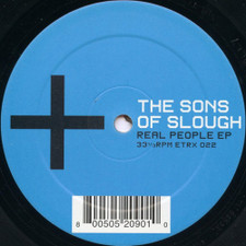 """Sons Of Slough - Real People Ep - 12"""" Vinyl"""