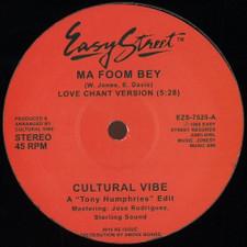 """Cultural Vibe - Ma Foom Bey - 12"""" Vinyl"""