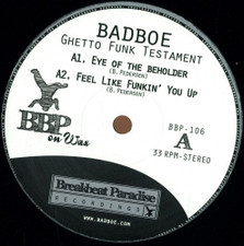 "BadboE - Ghetto Funk Testament - 12"" Vinyl"