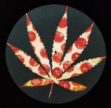 Weed Pizza -   - Single Slipmat