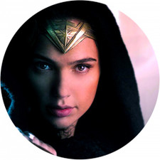 Wonder Woman - Face Closeup - Single Slipmat