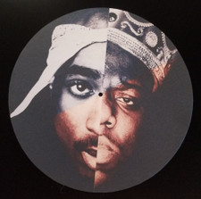 Tupac Shakur / Notorious B.I.G. - Split - Single Slipmat