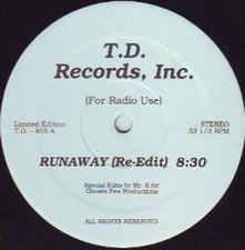 "Salsoul Orchestra / Venus Dodson - Runaway / Shining (Mr. K Edits) - 12"" Vinyl"