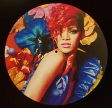 Rihanna - Red - Single Slipmat
