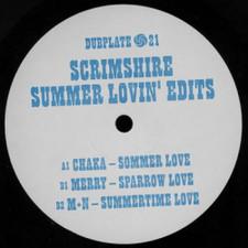 """Scrimshire - Summer Lovin' Edits - 12"""" Vinyl"""