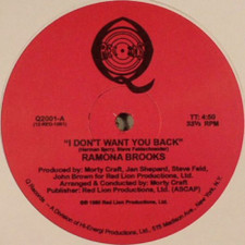 "Ramona Brooks - I Don't Want You Back - 12"" Vinyl"