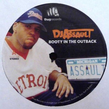 """DJ Assault - Booty In The Outback - 12"""" Vinyl"""
