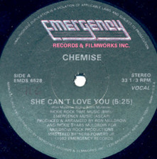 "Chemise - She Can't Love You - 12"" Vinyl"