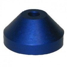 "Aluminum Spindle Adapter - Blue - 7"" Adapter"