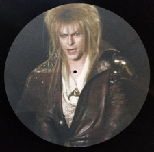 David Bowie - Labyrinth - Single Slipmat
