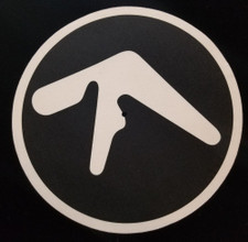 Aphex Twin - Logo Black - Single Slipmat