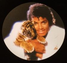 Michael Jackson - Tiger Cub - Single Slipmat