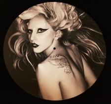 Lady Gaga - Born This Way 1 - Single Slipmat