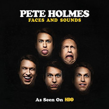 Pete Holmes - Faces And Sounds - LP Vinyl