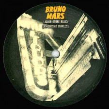 "Bruno Mars / Damian Marley - Liquor Store Blues Remixes - 12"" Vinyl"