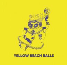 "Yellow Beach Balls - Space Cat - 12"" Vinyl"