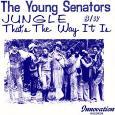 "The Young Senators - Jungle / That's The Way It Is - 7"" Vinyl"