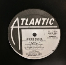 "Chic - Good Times - 12"" Vinyl"