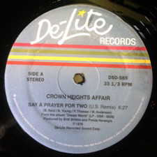 "Crown Heights Affair - Say a Prayer For Two - 12"" Vinyl"