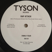 "Family Four - Rap Attack - 12"" Vinyl"