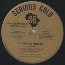 "George Nooks & The Electrons - Computer Reggae - 12"" Vinyl"