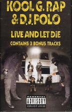 Kool G Rap & DJ Polo - Live And Let Die - Cassette