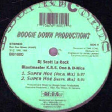 "Boogie Down Productions - Super Hoe - 12"" Vinyl"