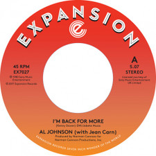 "Al Johnson - I'm Back For More - 7"" Vinyl"