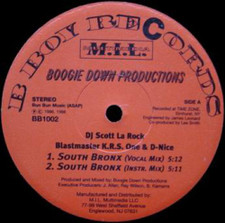 """Boogie Down Productions - South Bronx / The P Is Free - 12"""" Vinyl"""