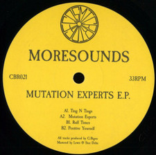 "Moresounds - Mutation Experts Ep - 12"" Vinyl"