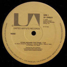 "War - City Country City/Flying Machine - 12"" Vinyl"