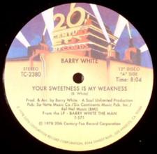 "Barry White - Your Sweetness/Never Gonna - 12"" Vinyl"