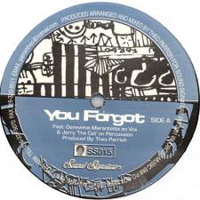 "Theo Parrish - You Forgot / Dirt Rhodes - 12"" Vinyl"