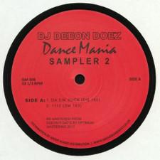 """DJ Deeon - Doez Dance Mania Sampler 2 - 12"""" Vinyl"""