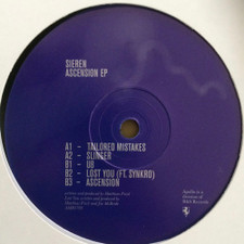 """Sieren - Ascention Ep - 12"""" Vinyl"""