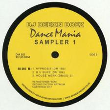 """DJ Deeon - Doez Dance Mania Sampler 1 - 12"""" Vinyl"""