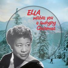 Ella Fitzgerald - Ella Wishes You A Swinging Christmas - LP Picture Disc Vinyl