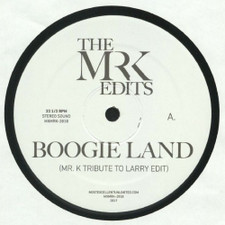 "Ike Strong / Boogie Man Orchestra - Mr. K Edits - 12"" Vinyl"