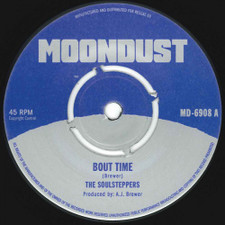 "The Soulsteppers - Bout Time - 7"" Vinyl"