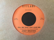 "Jonny Benavidez / Cold Diamond & Mink - Tell Me That You Love Me - 7"" Vinyl"