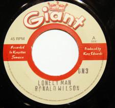 "Ronald Wilson / Higgs & Wilson - Lonely Man / Gone Yesterday - 7"" Vinyl"