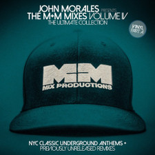 """John Morales - M+M Mixes Vol. 4 Pt. A - 2x 12"""" Vinyl"""