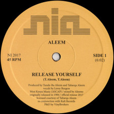 "Aleem - Release Yourself - 12"" Vinyl"