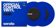 "Serato Performance Series - 7"" Control Vinyl Blue - 2x 7"" Colored Vinyl"