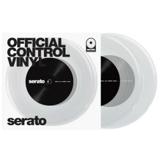 "Serato Performance Series - 7"" Control Vinyl Clear - 2x 7"" Vinyl"