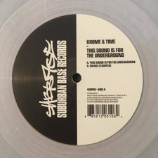 "Krome & Time - This Sound Is For The Underground - 12"" Vinyl"