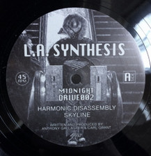 "L.A. Synthesis - Harmonic Disassembly - 12"" Vinyl"